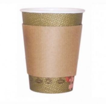210GBAG16 FASCIA RING CUP PER BICCHIERE 330-400 ML DI 12 -16 OZ IN CARTA (100PZ/CF)