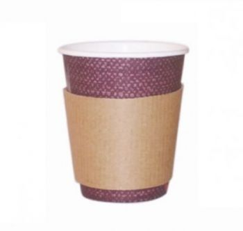 210GBAG8 FASCIA RING CUP PER BICCHIERE 250-300 ML 8-10 OZ IN CARTA (100PZ/CF)
