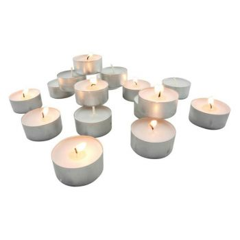 CANDELE TEA LIGHT BIANCO 6 CM (6PZ/CF)