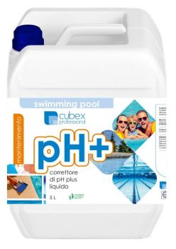 PH PIU 5 LT - CORRETTORE PH PLUS PER PISCINE