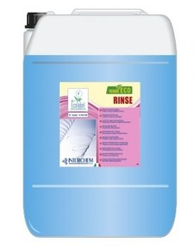 VERDE ECO RINSE 20 KG - BRILLANTANTE NEUTRO PER ACQUE DI QUALSIASI DUREZZA